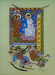 The appearance of the angel to the holy women