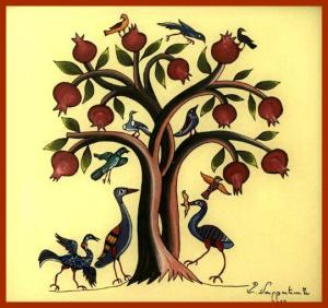 Pomegranates-Tree